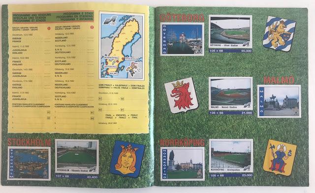 Figurine Stadi Euro 92