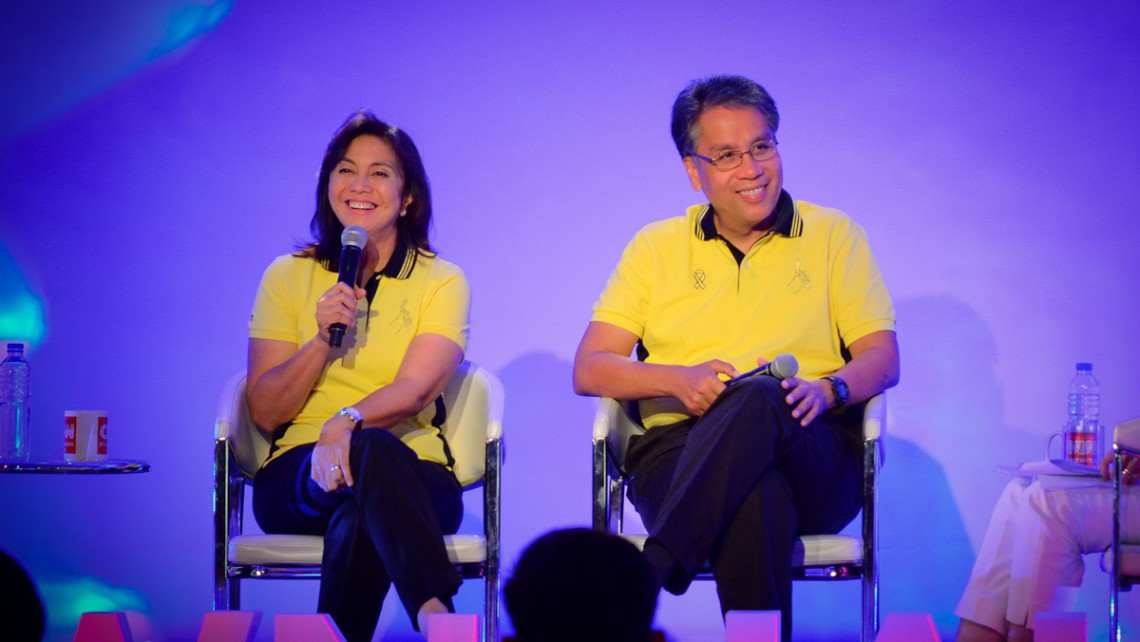 Robredo vows full support towards his running mate Roxas once they assume office.