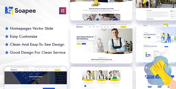 Best Cleaning Services WordPress Theme