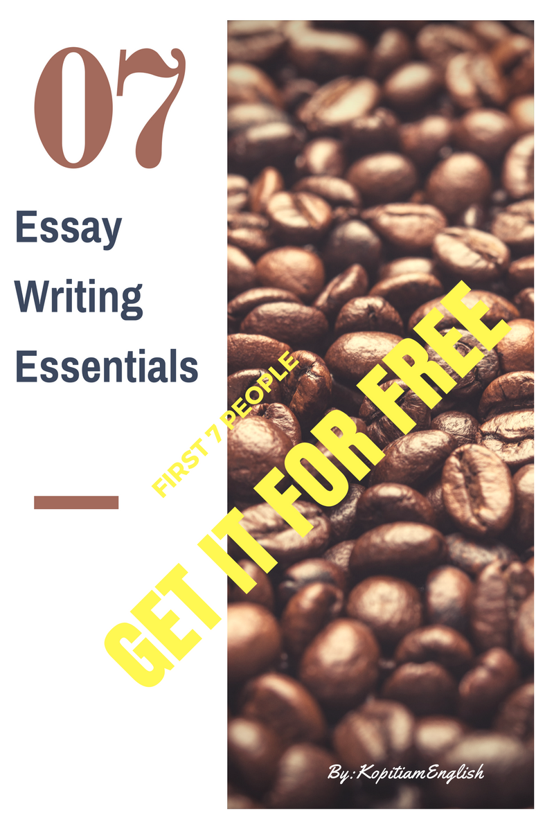 types of essay giveaway first 7 copies only