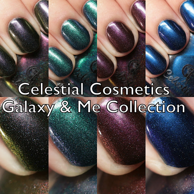 Celestial Cosmetics Galaxy & Me Collection