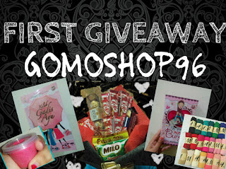 First Giveaway GOMOSHOP