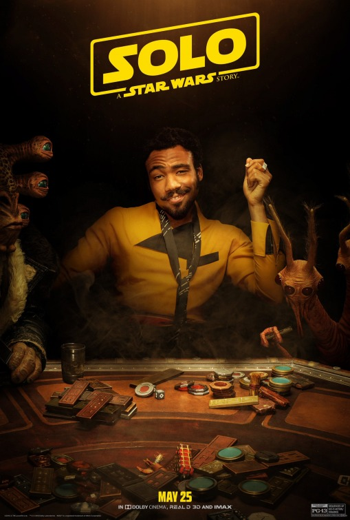 Solo Star Wars Lando Calrissian poster