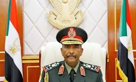"""عاجل : اليوم علي تلفزيون السودان لقاء مع رئيس مجلس السيادة """" البرهان """" يقدمه لقمان أحمد"""