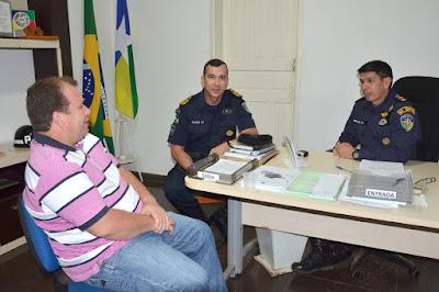 Dr. Neidson anuncia emendas parlamentares para o 6º BPM em Guajará-Mirim