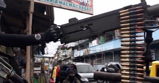 """""""داعش"""" يزعم سيطرته على مدينة ماراوى الفلبينية"""