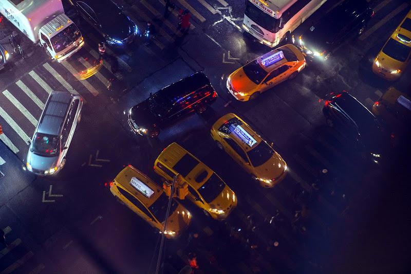 New York streets congestion