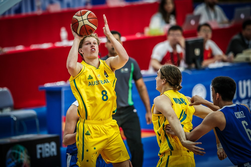 Australia blasts sluggish Batang Gilas to top FIBA Asia U16 group