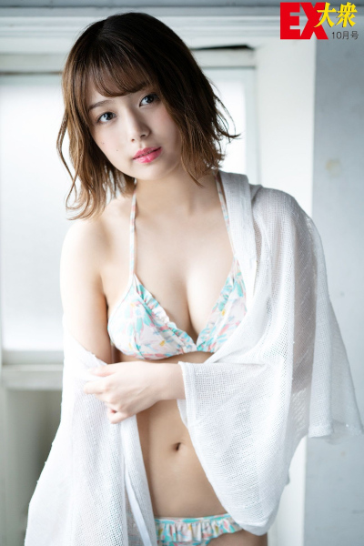 Ruka Kitano 北野瑠華, Ex-Taishu 2019.10 (EX大衆 2019年10月号)