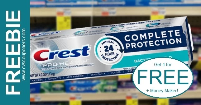 FREE Crest Pro-Health Toothpaste at CVS 5/30-6/5
