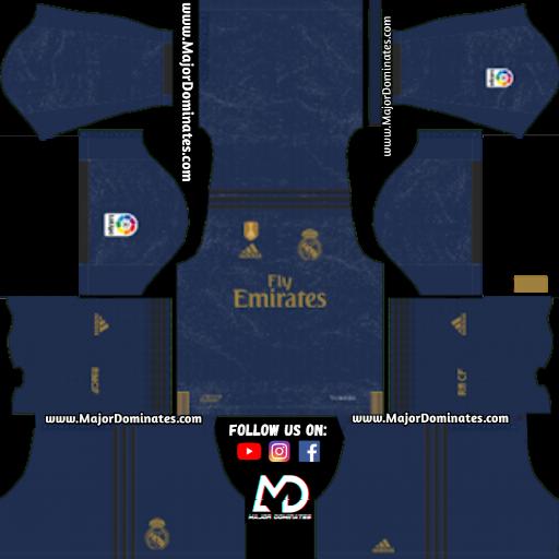 size 40 172da 6b83b Real Madrid New Kit 2019-20 for Dream League Soccer 2019 ...