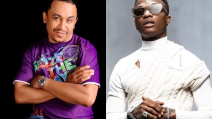 Daddy Freeze slams man who claims Wizkid sold his soul and his fans are 'devil followers'