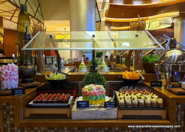 Dessert station in Liwan's SBG Weekend Griller