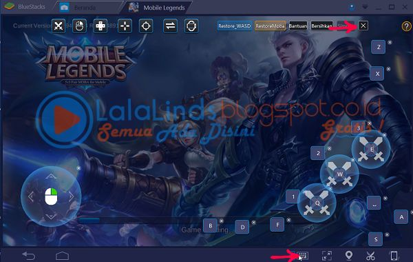 Cara Bermain Game MOBA Di Bluestacks 3