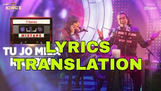 Tu jo Mila Raabta Lyrics in English | With Translation | – SHIRLEY SETIA & JUBIN NAUTIYAL