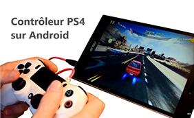 Utiliser la Manette PS4 avec un smartphone Android