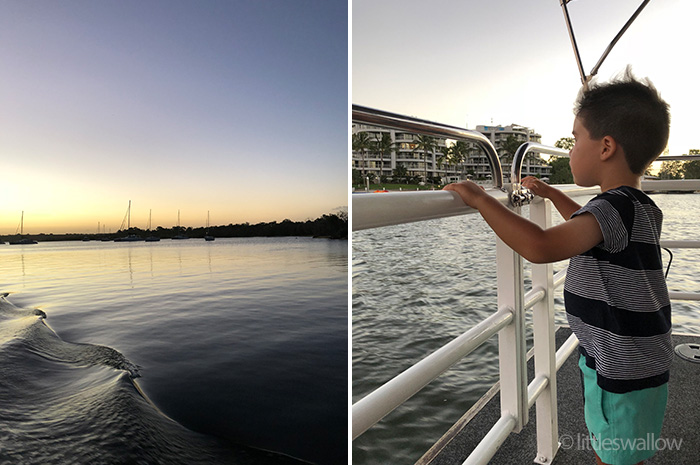 Sunset Cruise, Noosa, QLD, Australia