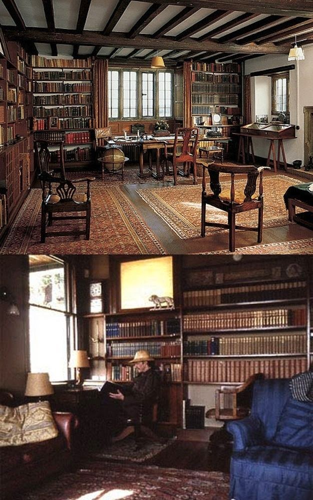Workspaces Of The Greatest Artists Of The World (38 Pictures) - Rudyard Kipling, author