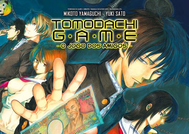 Tomodachi Game Manga retorna para 1 capítulo, volta de hiatus