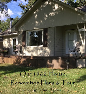We've been living in our 1962 House for almost a year and have made some renovation plans.