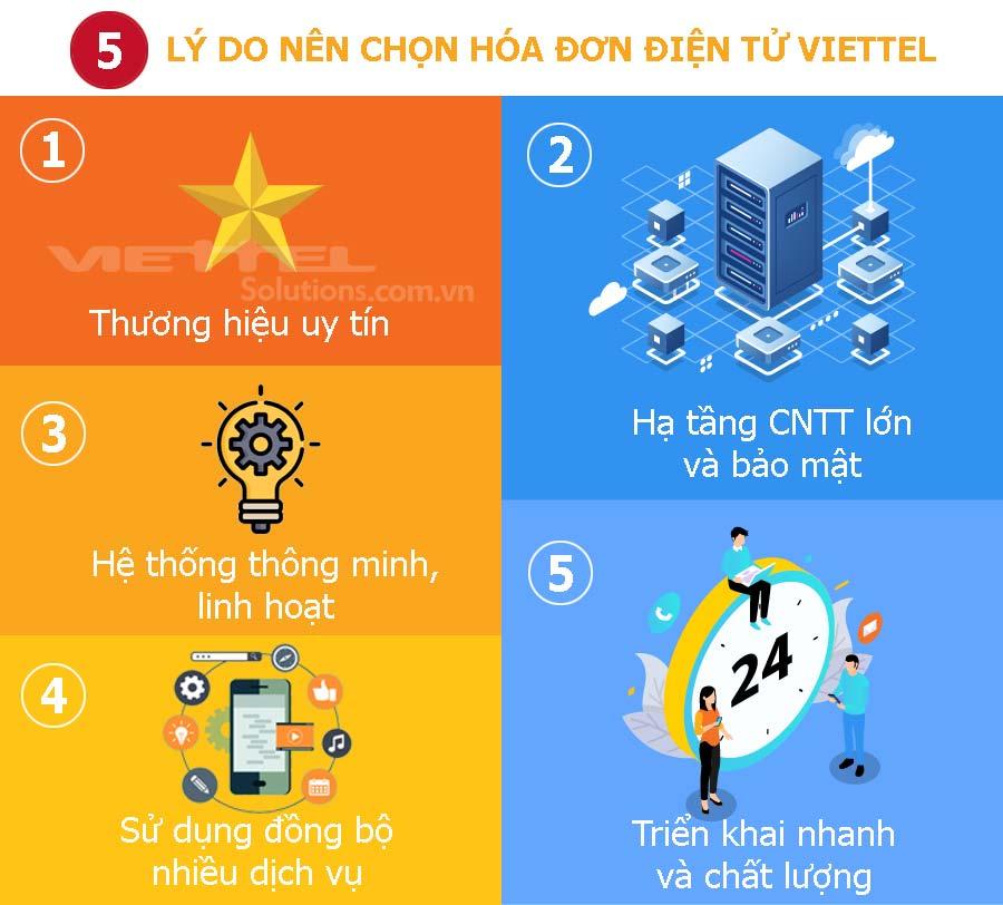 Ảnh minh họa: 5 lý do nên chọn hóa đơn điện tử S-Invoice của Viettel