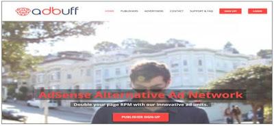 Adbuff Alternatif AdSense Terbaik Untuk Blogger