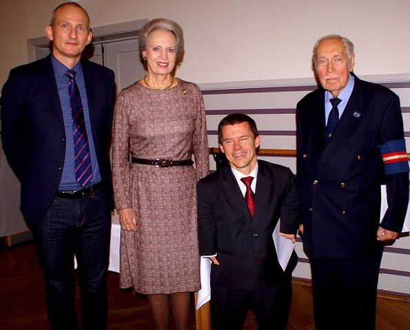 Princess Benedikte of Denmark attended scholarship presentation of Gudmund Schacks Mindefonds