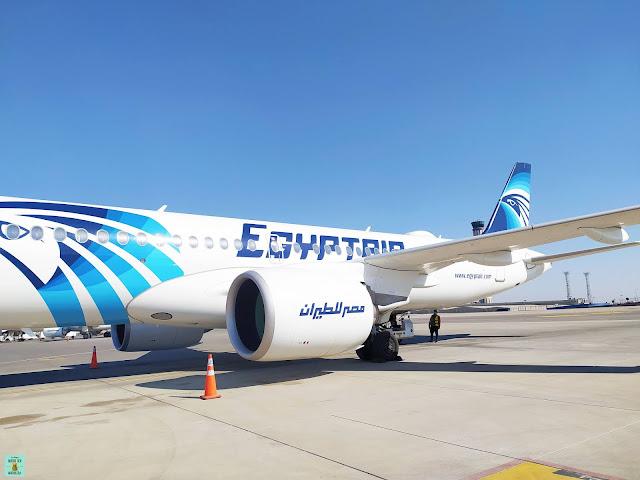 Aviones en Egipto