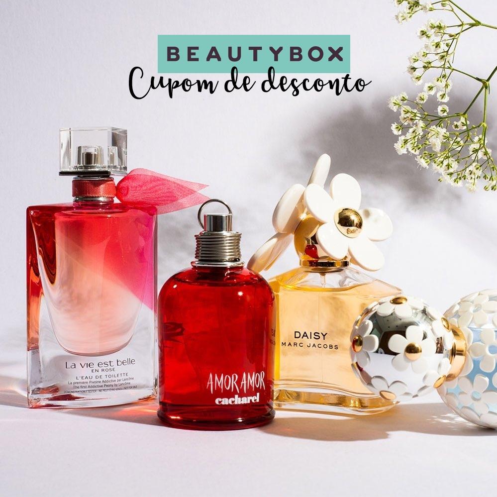 Cupom de desconto Beauty Box