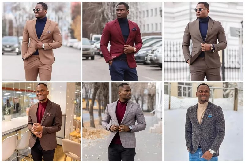 Best Outfit color combinations for dark skin guys.