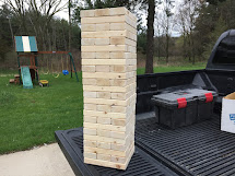Diy Giant 2x4 Wooden Block Stacking Game Wolven