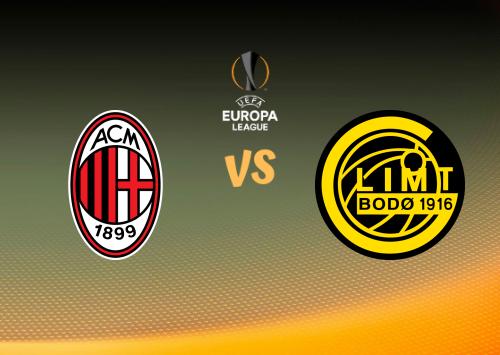 Milan vs FK Bodø Glimt  Resumen