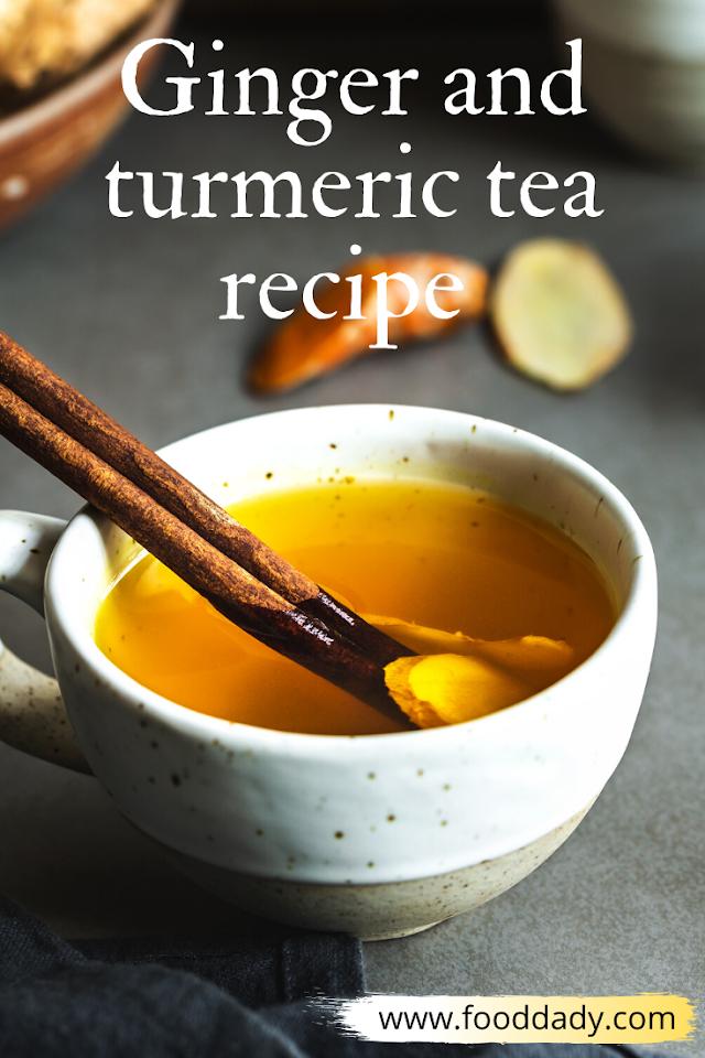 Ginger and turmeric tea recipe