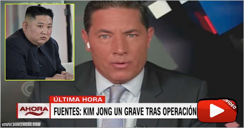 El Dictador Kim Jong Un en estado grave tras una operación