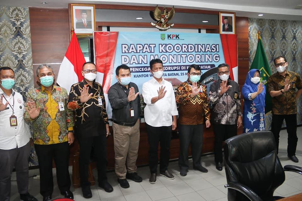 Ketua Korsup KPK Satgas I Apresiasi Pemko Batam Komitmen Untuk Mencegah Korupsi