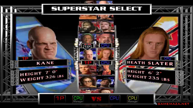 WWE RAW Ultimate Impact 2009 Gameplay Screenshot 1