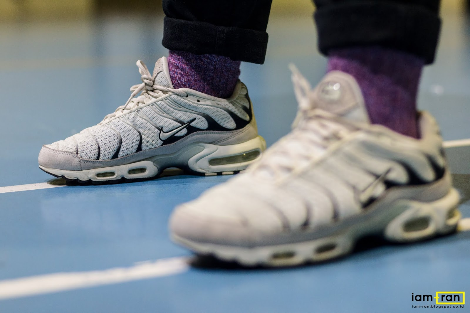 Iam Ran On Feet Zulfikar Ali Nike Air Max Plus Tn Ultra