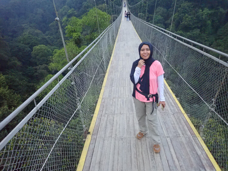 jembatan gantung situ gunung, situgunung suspension bridge