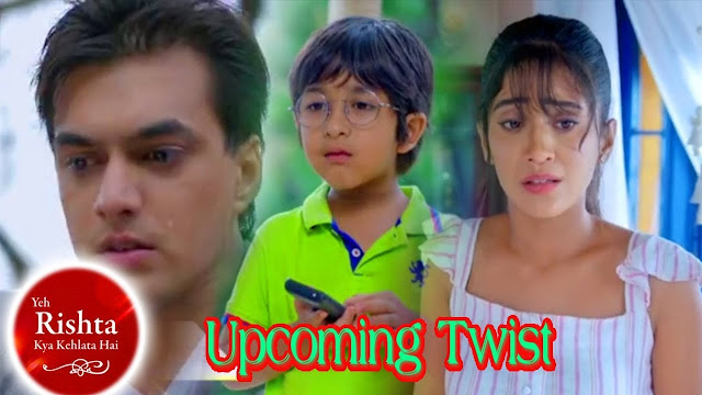 OH NO! Kairav goes missing Kartik Naira gets connected in Yeh Rishta Kya Kehlata Hai