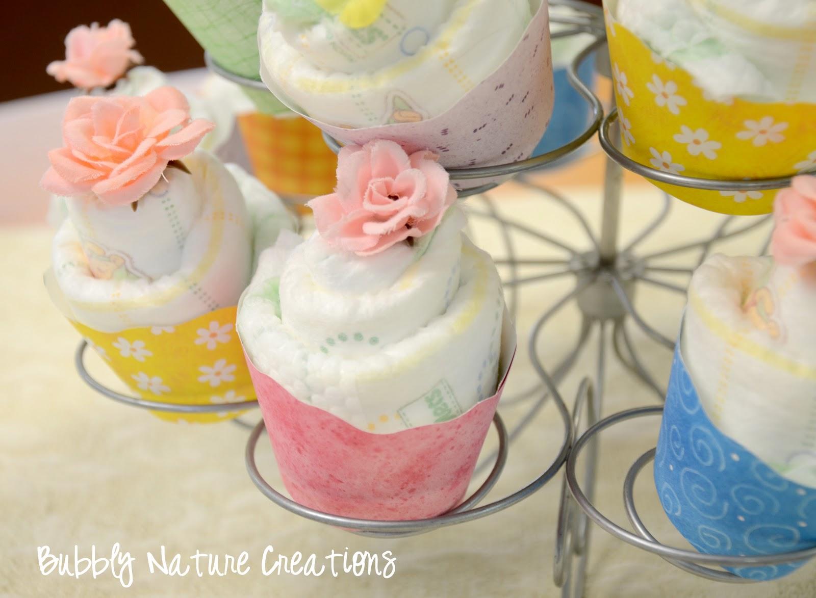 Diaper Cupcakes Tutorial Sprinkle Some Fun