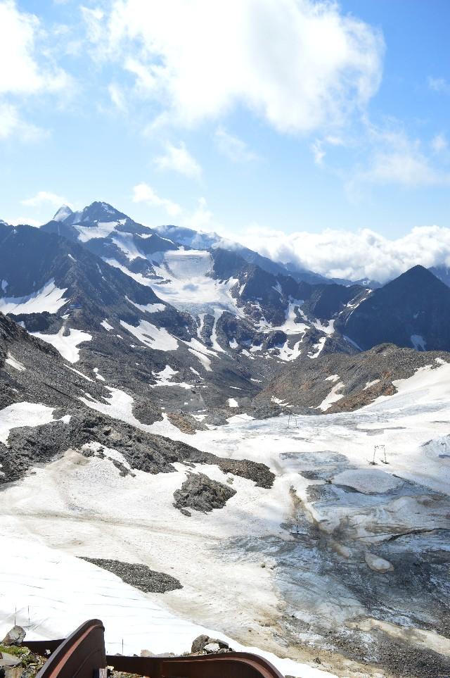 ghiacciaio dello stubai estate