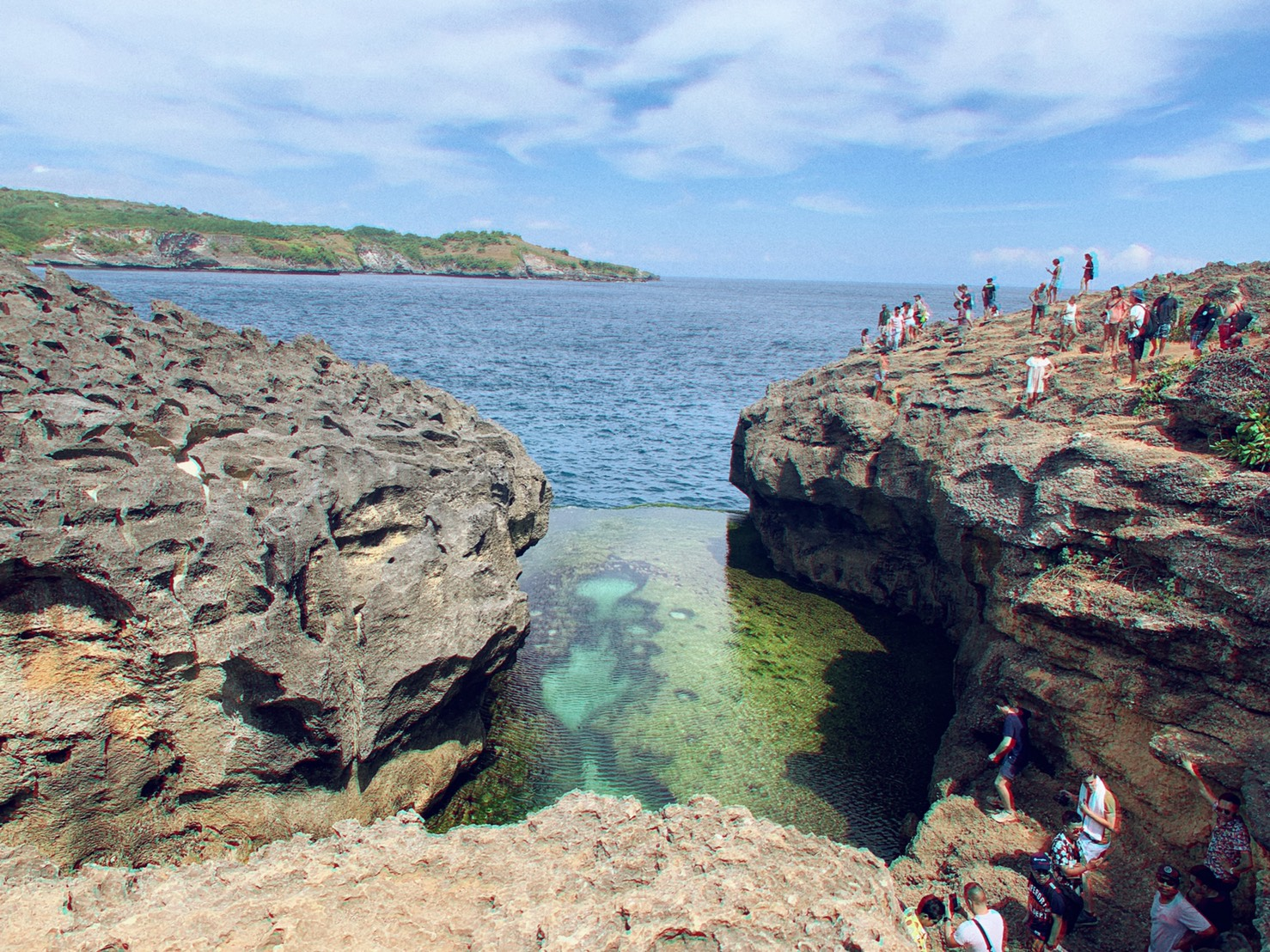 Angel's billabong เกาะ Nusa Penida
