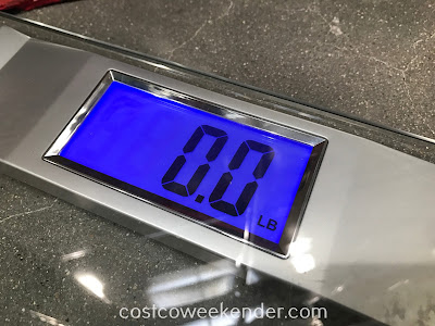 Weight Watchers Digital Glass Scale display