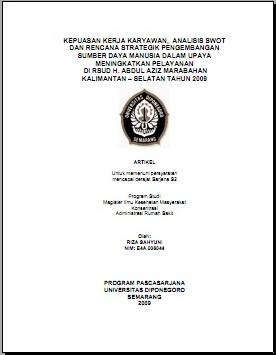 Tesis Manajemen Sdm : tesis, manajemen, Contoh, Tesis, Kualitatif, Manajemen, Materi, Pelajaran