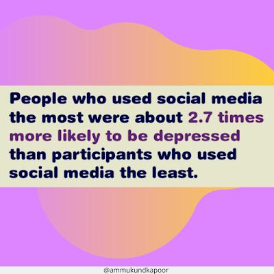using more social media makes you unhappy