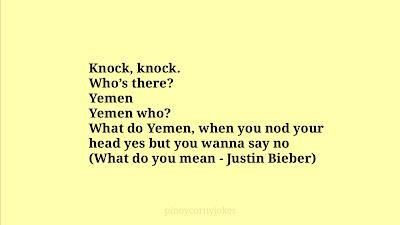 Yemen Knockknock jokes tagalog