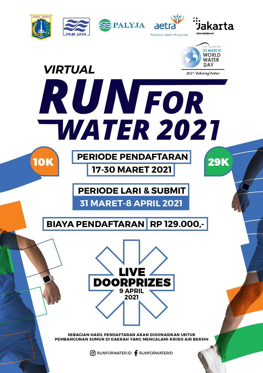 Virtual Run for Water • 2021