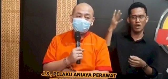 Ditangkap, Penganiaya Perawat Di RS Siloam Palembang Terancam Hukuman 2 Tahun 8 Bulan