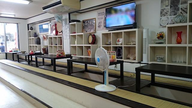 八重山そばジュネの店内の写真