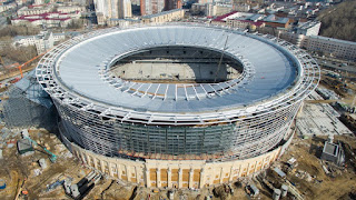 World Cup stadiums improving day by day